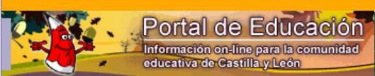 PORTAL DE EDUCACIÓN JUNTA DE CASTILLA Y LEÓN